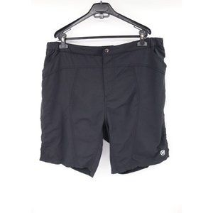 Novara men's XXL nylon padded seat cycling shorts